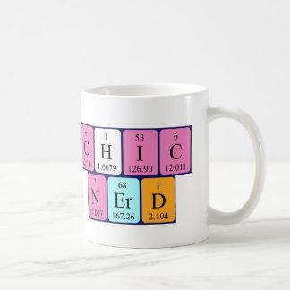 Taza de la frase de la tabla periódica de ChicNerd