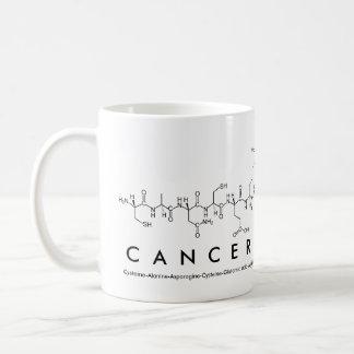 Taza de la frase del péptido de CancerChemist