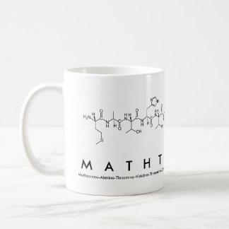 Taza de la frase del péptido de MathTeacher