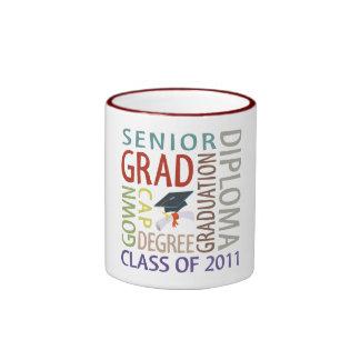 Taza de la graduación
