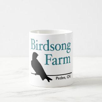Taza de la granja del Birdsong - trago