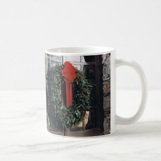 Taza de la guirnalda del navidad
