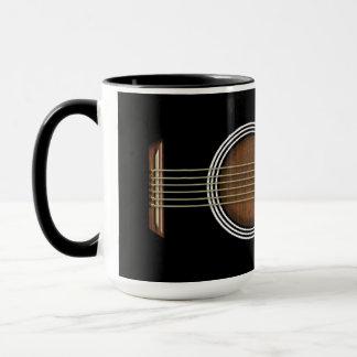 Taza de la guitarra acústica - Mongram