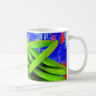 Taza de la haba verde