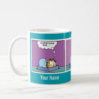 Taza de la historieta de Garfield de la