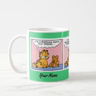 """Taza de la historieta de Garfield """"de un regalo"""