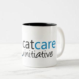 Taza de la iniciativa del cuidado del gato