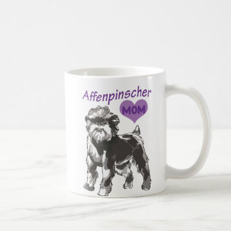 Taza de la mamá del Affenpinscher