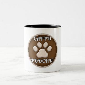 Taza de la marca de Cappu Poochie