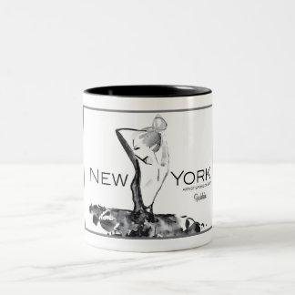 Taza de la moda del patrocinador del artista