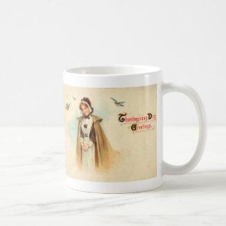 Taza de la mujer del peregrino
