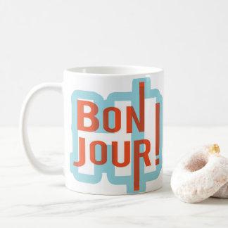 Taza de la obra clásica de Bonjour onza