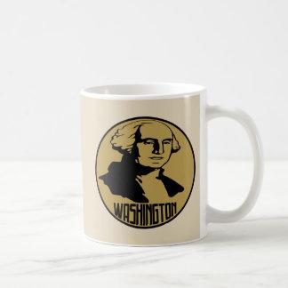 Taza de la obra clásica de George Washington