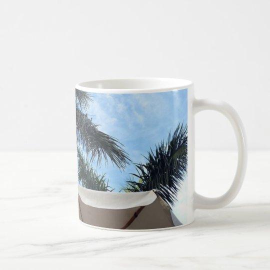 Taza de la palmera de Tenerife