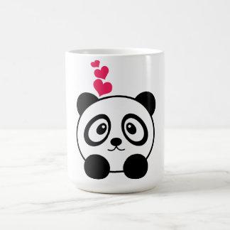 Taza de la panda del amor