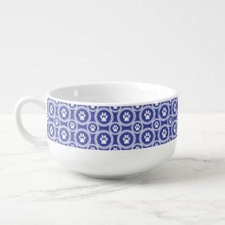 Taza de la Pata-para-Sopa (añil)