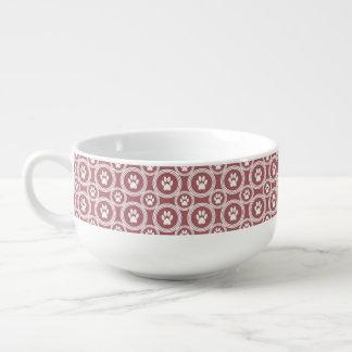 Taza de la Pata-para-Sopa (canela)