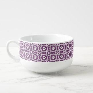 Taza de la Pata-para-Sopa (ciruelo)