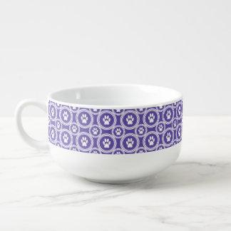 Taza de la Pata-para-Sopa (violeta)