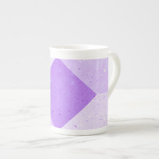 Taza de la porcelana de hueso del diseño