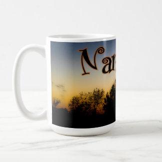 Taza de la puesta del sol 15oz de Namaste