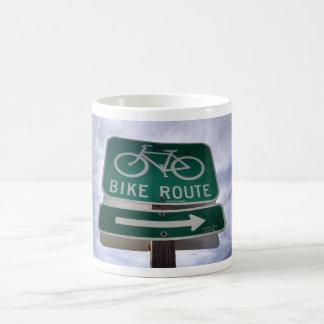 Taza de la ruta de la bici