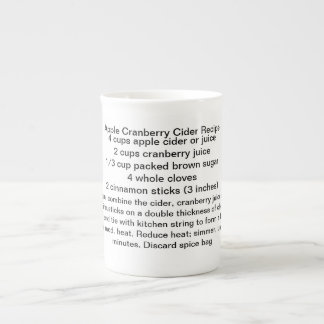 Taza de la sidra del arándano de Apple Taza De Porcelana