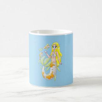 Taza de la sirena de Koi