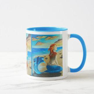 Taza de la sirena de la taza de la sirena