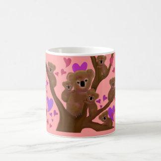 Taza De Café Taza de la tarjeta del día de San Valentín de la