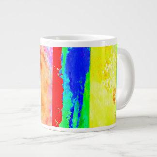 Taza de la taza del artista de taza del jumbo de