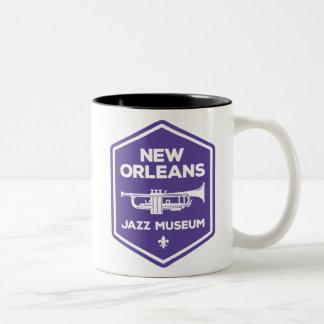 Taza de la trompeta del museo del jazz de New