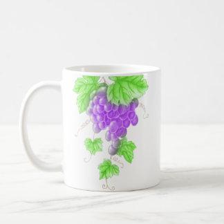 taza de la uva del dibujo
