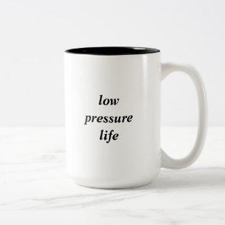 Taza de la vida de la presión baja