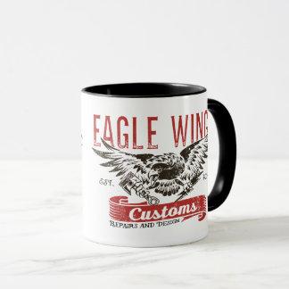 """Taza de las alas de Eagle de la """"cerradura y de la"""