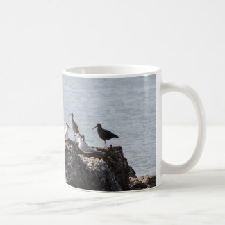 Taza de las aves costeras