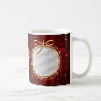 Taza de las fotos de las Felices Navidad 76