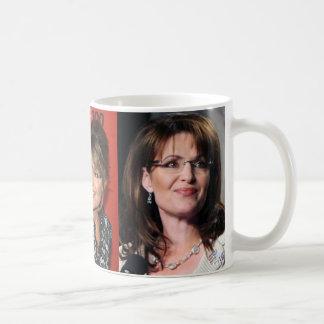Taza de las fotos de Sarah Palin tres