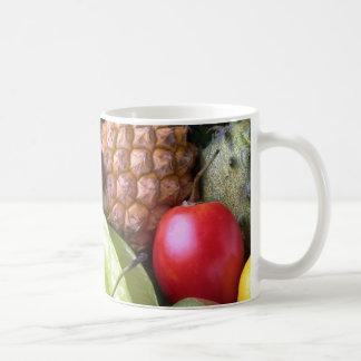 Taza de las frutas y de los Veggies