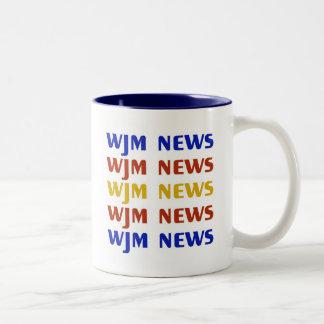 Taza de las noticias de WJM