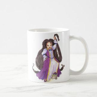 Taza de los chicas de la princesa de Rapunzel del