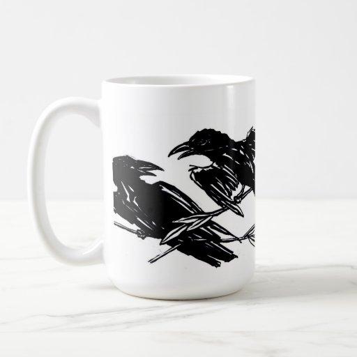 Taza de los cuervos
