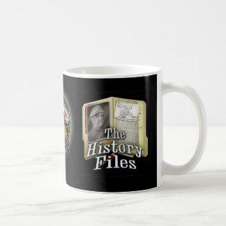Taza de los ficheros de historia