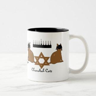Taza de los gatos de Chanukah