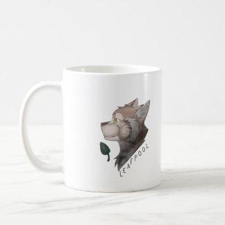 Taza de los gatos del guerrero de Leafpool