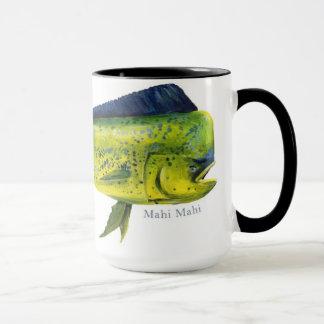 Taza de los pescados de Mahi Mahi
