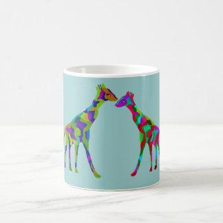 Taza De Café Taza de Luv de la jirafa