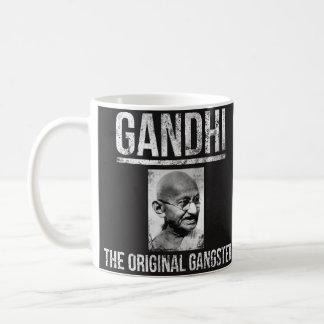 Taza de Mahatma Gandhi - el gángster original