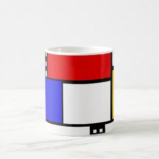 Taza de Mondrian
