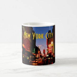 Taza de New York City (Broadway) - modificada para